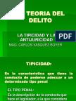 TIPICIDAD - ANTIJURICIDAD