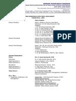 Struktur Organisasi DPD Jabar 2018-2022