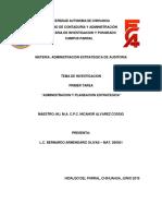 Administracion y Planeacion Estrategica