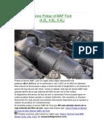 Cómo Probar El MAF Ford (4.2, 4.6, 5.4)