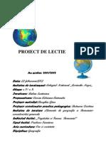 Proiect Geografie-predare Bun