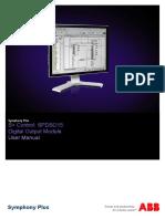 2VAA001595 - En S Control SPDSO15 Digital Output Module