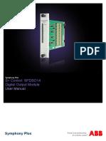 2VAA001623 en S Control SPDSO14 Digital Output Module