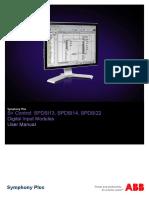 2VAA001638 a en S Control SPDSI13 SPDSI14 SPDSI22 Digital Input Modules