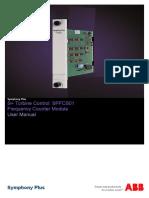 2VAA002472 - En S Turbine Control SPFCS01 Frequency Counter Module