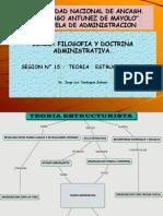 SESION 15 Teoria Estructuralista. Filos Doctri. Adm Jlts Primera Parte.jlts