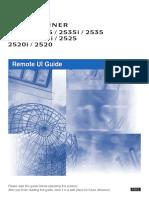 Remote Ui Guide