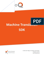MemoQ Machine Translation SDK