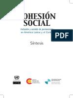 CEPAL Cohesión social.pdf