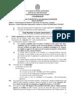 Adv Lab Asst Edu 22017