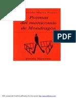 Leopoldo Maria Panero - Poemas Del Manicomio De Mondragon