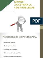 Intervenciones Estratégicas Para La Solución de Problemas