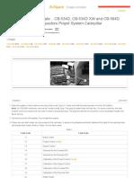 CAT 534DSpeed Control - Calibrate..