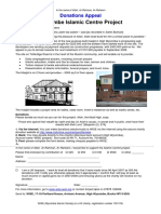 Centre Appeal Letter Sep08