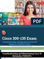 Latest Cisco 300-135 Exam Question with Dumps