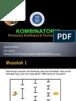 7 Permutasi, Kombinasi, Koefesien Binomial