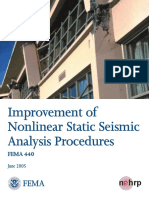 2005 June FEMA 440 Improvement of Nonlinear Static Seismic Analysis Procedures
