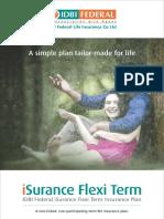ISurance Flexi Term Plan_Brochure_0
