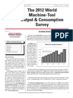 World Machine Tool Output 2012