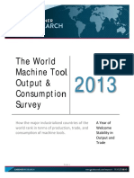 World Machine Tool Output 2013