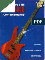 Metodo de Bajo Contemporáneo - Valentino A. Contreras Vol. 1