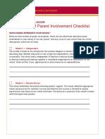 Four Models of Parent Involvement