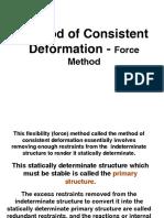 Consistent Deformation