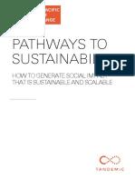 APYE - Pathways to Sustainability Handbook