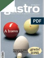 Revista Gastro Aragón Especial Recetas con Huevos Balneario Termas Pallares