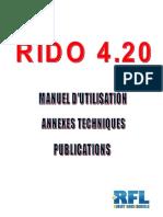 Notice Rido 4.20