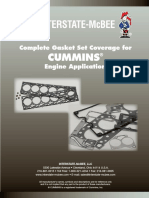 Cummins Gasket Set Parts Catalog