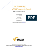 Live Streaming on Aws