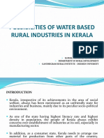 Full Paper Possibilities of Water Based Rural Industries in Kerala [Sujith Prabhakar]
