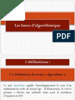 Indpet1an Info-bases de l Algoritmique
