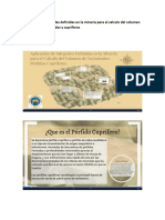 Aplicación de Ntegrales Definidas en La Mineria Para El Calculo Del Volumen de Yacimientos Porfidos y Cupriferos