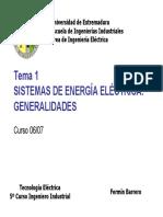 Apuntes sobre sistemas de energía eléctrica