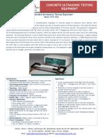 Ultrasonic Testing Equipment Manufacturers - Canopus Instruments