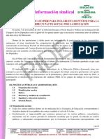 Propuestas PIDE CEEx Pacto Educativo