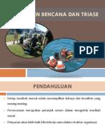 1. Manajemen Bencana Dan Triase