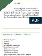 Bailment Contract