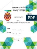 TIC - Impacto de La Tecnología en La Construcción Civil