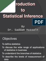 Lecture 1 ppt | Level Of Measurement | Statistics