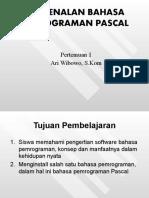 Bahasa Pemograman Pascal P2