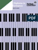 RCM Piano Licentiate