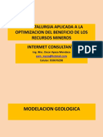 Modelacion Geologica Del Deposito - II A