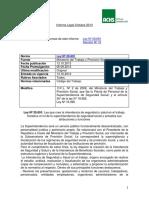 Informe Achs Decreto No. 10 Ministerio de Salud