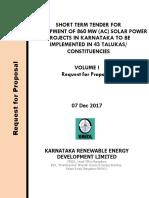 1.Rfp_kredl_860 Mw Solar Projects_07 Dec 2017_final E-proc