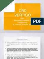 Cbd Vertigo