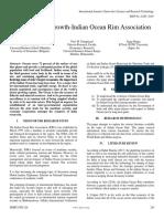A Fulcrum of Growth Indian Ocean Rim Association