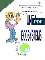 Unit 1. Ecosystems